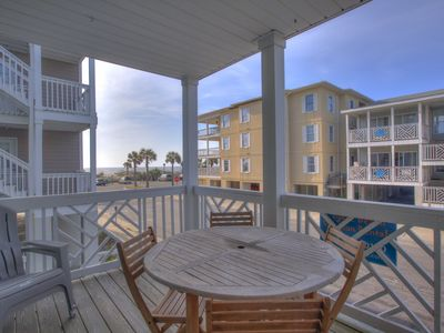 Photo for South Beach Ocean Condos - Unit 4 - Just Steps to the beach - Ocean View