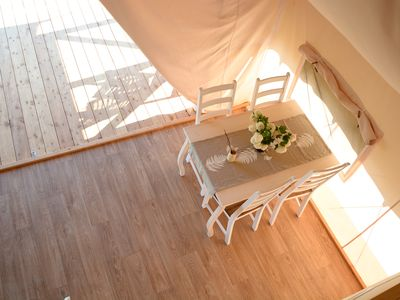 Photo for Kolpa resort glamping tent in Slovenian countryside