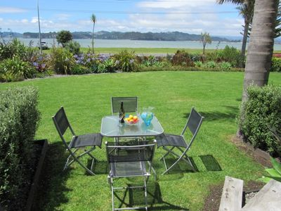 Photo for La Plage - Beachfront Whitianga Villa