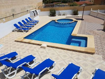 Photo for MEDSTAR VILLA IN BENIDORM Jacuzzi-pooltable-tabletennis-Golf-Sports-Family