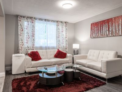 Photo for (Unit 3) ENTIRE 2 BEDROOM APRT. UPTOWN WATERLOO
