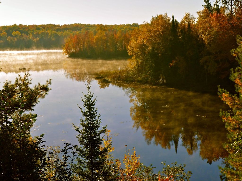 Great Cabin and Privacy: Chippewa Flowage, private location, great ...
