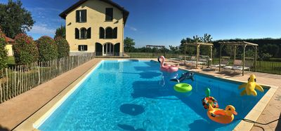 Photo for The 16 Oaks: APARTMENT in CASALE - Pool & Park - Hilly position - Monferrato