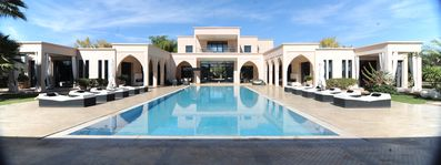 Photo for Luxurious and Large Villa with Spectacular View of the Atlas Mountains