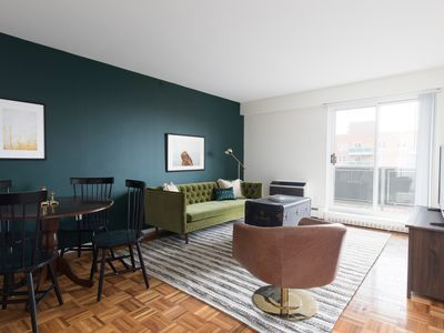 Photo for Sonder | JFK Historic Site | Warm 2BR + Balcony