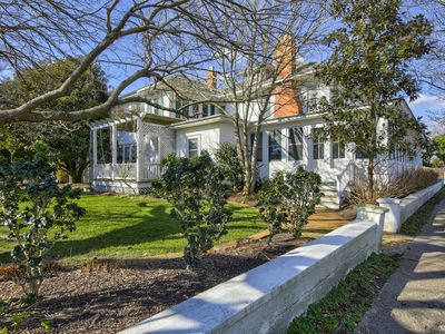Photo for 42 Surf Avenue - Classic 1920s Ocean Front Home, Great Wrap Around Porch, Geo Thermal Heat and Air, Unbelievable yard and Outdoor seeting, Sleeps 12,