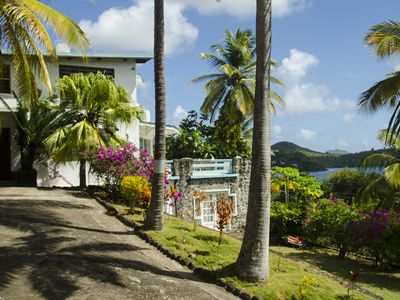 Photo for Panoramic Caribbean View Near West Indian Fishing Village