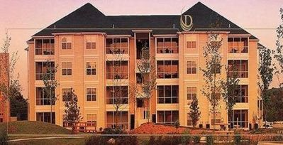 The Suites at Fall Creek Exterior View