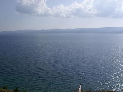 Photo for One bedroom apartment with terrace and sea view Lokva Rogoznica (Omiš)