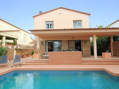 Photo for Villa on the canal with private pool  with four bedrooms and  four bathroom