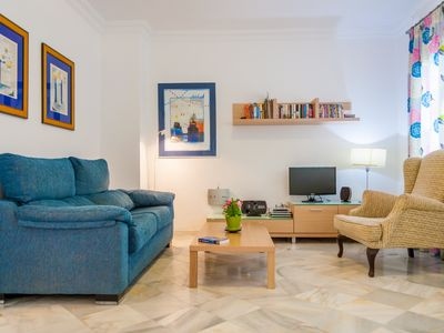 Photo for STELLA MARIS - 1st line of Beach with Sea View, Pool and Terrace -Canovas (1292)