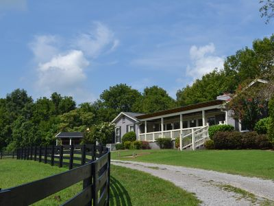 Photo for A RARE JEWEL! Luxury Guest Ranch Just Minutes to Franklin & Nashville