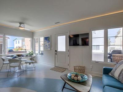 Photo for MIAMI-STYLE BEACH HOUSE! Brand New Home w/ AC & Views Throughout
