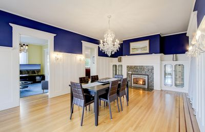 Spectacular Views 3-BR Suite in Historic Sleepless in Seattle Mansion