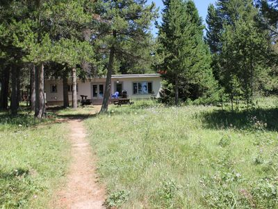 Photo for Lake Front Cabin in Island Park...35 minutes from West Yellowstone.