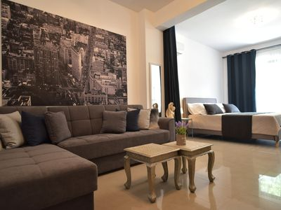 Photo for Brand New Home! Central Athens! with all the luxury you need!Breakfast box!