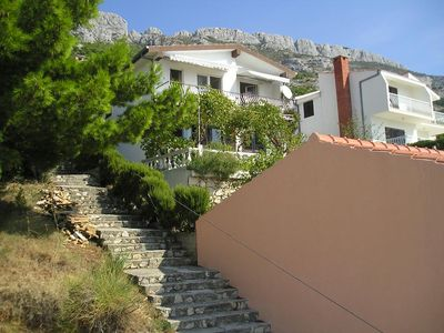 Photo for Apartment in Pisak (Omiš), capacity 4+0