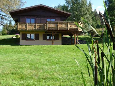 Photo for 3 cozy chalets of 52 m2 located 4km from Gerardmer XONRUPT with WIFI