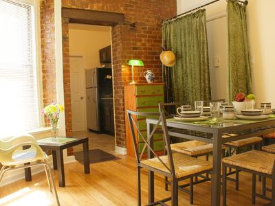 Photo for Comfortable cozy 3- bedroom Apartment in Manhattan up to 6 guests
