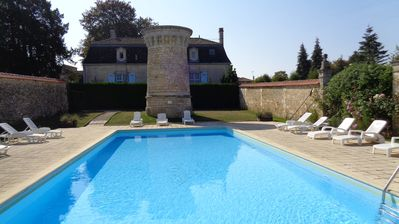 Photo for Chateau De Charras Apartment for 2/3 persons  Heated swimming pool