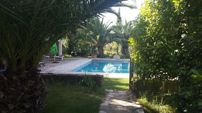 Photo for Bastide Provençale without opposite, its swimming pool 12 / 6m and its Park sported