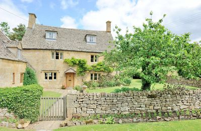 Photo for Orchard Cottage is a stunning grade II listed Cotswold stone property, in the lovely village of Sain