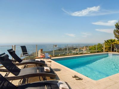 Photo for Sparkling 4 bedroom House in Èze (Q8938)