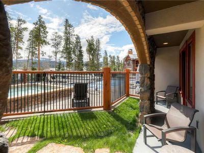 Photo for Ground level luxury condo, hiking & biking trails nearby