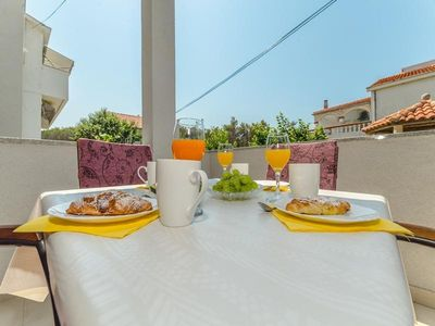 Photo for Holiday apartment Privlaka for 2 - 4 persons with 1 bedroom - Holiday apartment in one or multi-fami