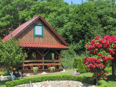 Photo for Charming house on a hill overlooking the lake, 5 km from Międzyzdroje