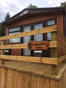 Photo for Cragganmore Lodge is a brand new build in 2017 sleeping up to 4 people.