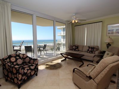 Photo for Indigo West 304- Beach Front View with Luxurious Interior and Amenities!