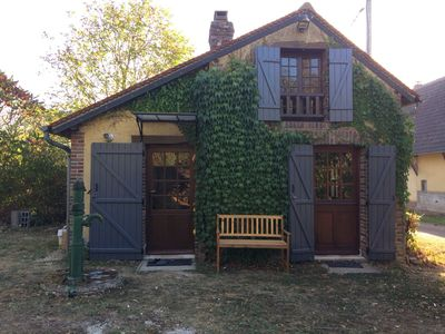 """Photo for This """"Cottage Puisayen"""" located 2 hours from Paris is a small house dating from 1880"""
