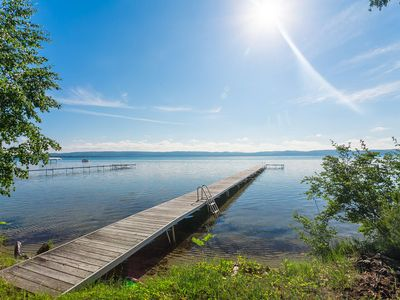 Photo for Year Round Home, Accommodates 15 with Private Access to Big Glen Lake