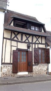 Photo for Small Half-timbered norman house in village with all convenience store