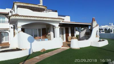 Photo for LUXURY VILLA WITH POOL ON THE SEA BED 11 + 1