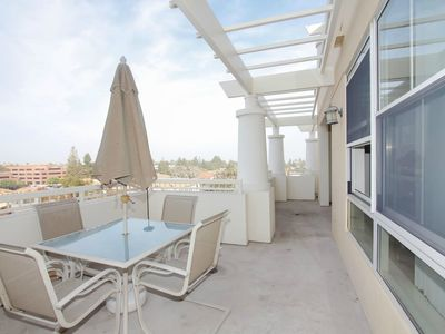 Photo for Views and Location - 140 degree foothill view, walk to Apple, restaurants/shops