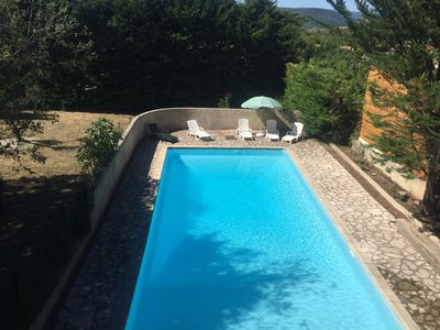 Photo for Holiday Rentals House near Lake Salagou with Pool