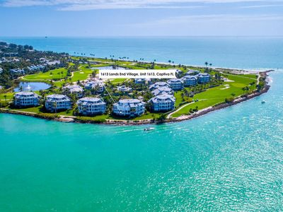 Photo for Lands End Village 1613 - Island Waterfront Living with Gulf to Bay Views