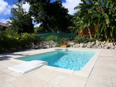 Photo for Beautiful bungalow for 2 Cazamayou lovers with private Jacuzzi and pool