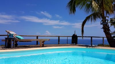 Photo for THE LUXURY VILLA WITH POOL SEA VIEW