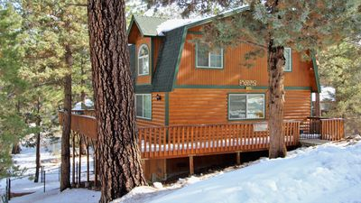 Photo for Mountain Top Chalet: Beautiful Cabin in Perfectly Peaceful Location! Sleeps 6