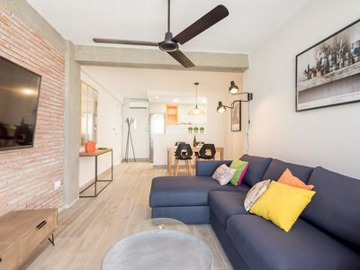 Photo for City Center Enriqueta apartment in Centro with WiFi, air conditioning & lift.