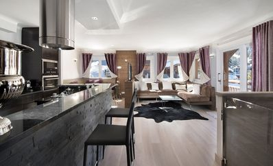 Photo for 120sqm apartment - 8 people in Courchevel 1850 center