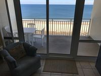 Great location right on the beach