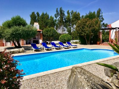 Photo for Luxury villa with Private Pool in large gated garden 10 minutes to many beaches.