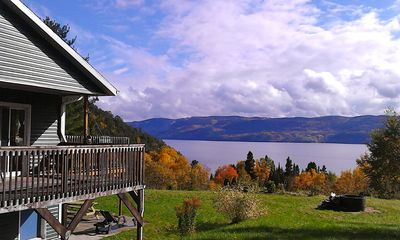 Photo for Splendid Panorama Fjord Saguenay - Villa De La Montagne