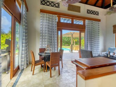 Photo for Elegant, upscale home w/ private pool, garden terrace & outdoor bathtub!
