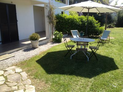 Photo for F2, calm and comfort, near the sea and beaches Porticcio, Ajaccio ideal for couples