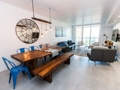 Photo for AMAZING, MODERN & LUXURY OCEANVIEW, JUST RENOVATED - 2 BED/1 DEN + 2 BATHROOMS